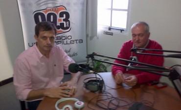 Bucca visitó Urdampilleta tras la llegada de dos nuevos transformadores para la Cooperativa Eléctrica local