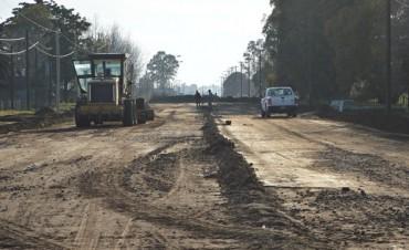 La avenida Mariano Unzué tendrá pavimento nuevo en otro tramo