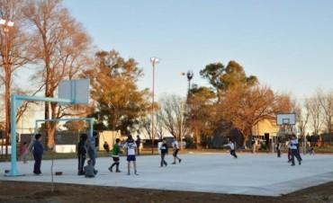 Encuentros Deportivos y Recreativos por el receso invernal