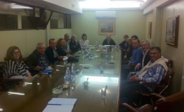 Ricardo Criado se reunió con integrantes de la Cámara Comercial e Industrial de Bolívar