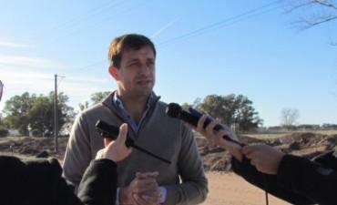 Avanza la obra de pavimentación y ampliación de la avenida Mariano Unzué