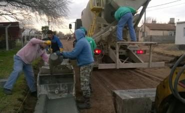 Avanza la obra pública en Pirovano
