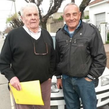 Juan Carlos Cardiello remató judicial un Volkswagen Gol