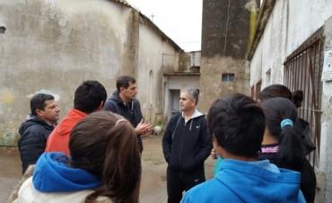 El Intendente visitó el Hogar San Francisco de Asís en Villa Diamante