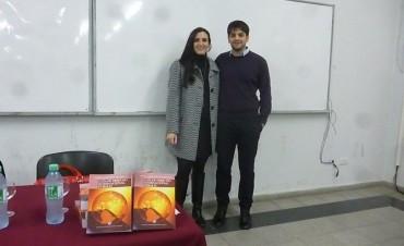 CRUB: Se presentó la 'Guía de Derecho Internacional Público', de la bolivarense Sofía Danessa