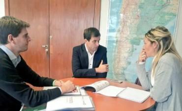El Intendente presentó tres proyectos ambientales en el Ministerio de Ambiente