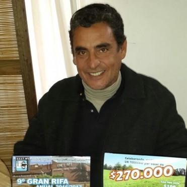 Últimos números de la 9na.Rifa Anual de la Escuela Técnica de Bolívar