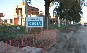 PROCREAR: Avanzan los trabajos en la instalación de los servicios de infraestructura