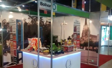 Bolívar presente en la Feria 'Caminos y Sabores'