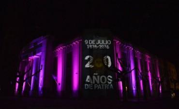 Se celebró el Bicentenario de la Independencia en el centro cívico