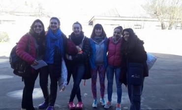 Las chicas de 'Cestoball de Bolívar' ya se encuentran en Corrientes