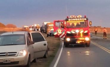 Sigue con pronóstico reservado la joven accidentada en Ruta 65