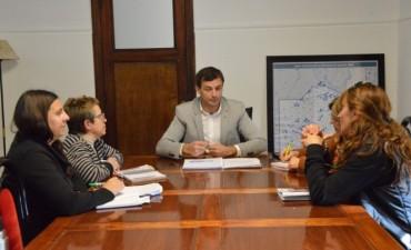 El intendente Bucca se reunión con representantes de Federación de Educadores Bonaerenses