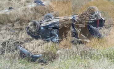 Gravísimo accidente en Ruta Nacional 226: Tres muertos en los puentes del 'Arroyo Las Flores'
