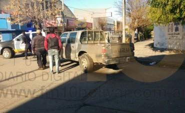 Accidente en Mitre y Alvear: No hubo heridos que lamentar