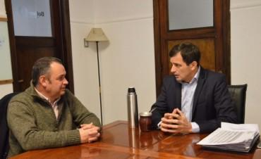 Bucca y Cellillo se reunieron para compartir proyectos