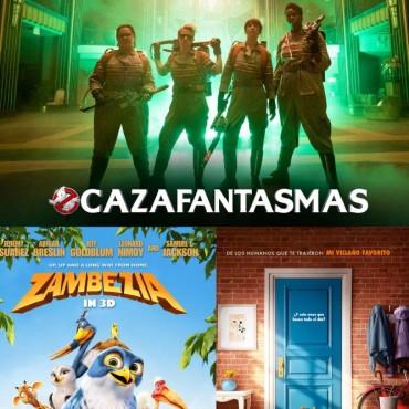 Cine Avenida: Llega 'Zambezia' La Vida Secreta de tus Mascotas y también 'Cazafantasmas'
