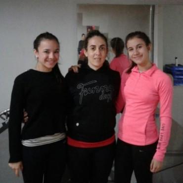 Gimnasia Aeróbica: Parte Melina González y Micaela Alessandroni rumbo a Las vegas