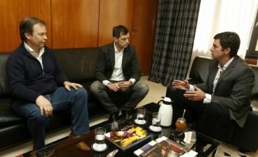 Bali Bucca se reunió con Juan Manuel Urtubey