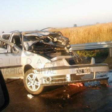 URGENTE: Trágico accidente sobre ruta 226