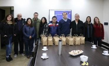 El Municipio agasajó a los locutores locales en su día con un desayuno