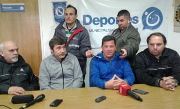 Se presentó a la Selección Sub 15 de la Liga de Fútbol Bolivarense que competirá en un Torneo Nacional