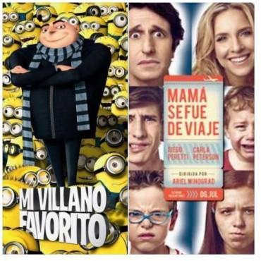 'Mi Villano Favorito 3' y 'Mamá se fue de viaje' en el Avenida
