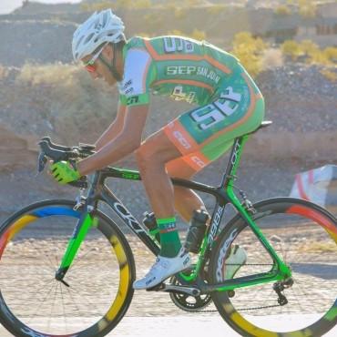 El ciclista Juan Pablo Dotti, de visita a su ciudad, entrevista exclusiva en FM10