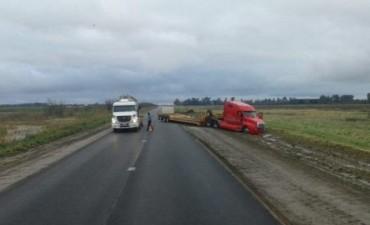 Ruta 226: Accidente sin graves consecuencias