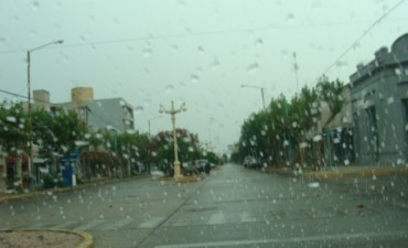 Lluvia del fin de semana: Nuevamente entre 5 a 15 milímetros