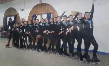 13 patinadores de 'Sueños sobre Ruedas' clasificaron al Nacional que se realizará en septiembre en Santiago del Estero