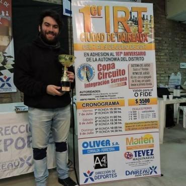 AJEDREZ: Seis bolivarenses clasificados para la final argentina, tras ganar el fin de semana el IRT Sub 2200 en Daireaux