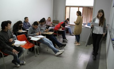 Comenzó el curso de introducción al trabajo y se dicta en el CRUB