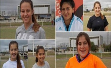 A pesar de los resultados, las chicas del hockey vivieron una experiencia inolvidable en la Selección SUB 14