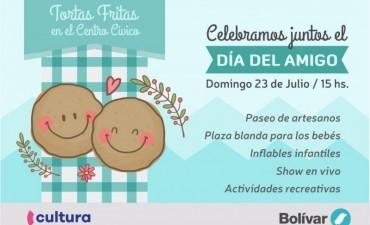 Este domingo, tortas fritas para compartir con amigos en el Centro Cívico