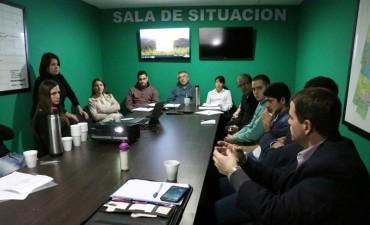 Los operarios del Centro de Monitoreo recibieron una capacitación a cargo del Ministerio de Seguridad Bonaerense