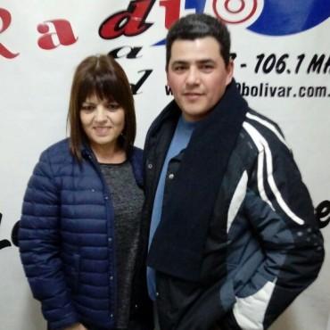 Lacasa y Martínez: Tras participar de las preliminares en Azul, ahora 'Clases de Tango Bolívar' organizan un seminario y una milonga
