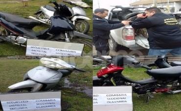 Desbaratan una banda de delincuentes que comercializaba motos en Olavarría