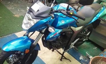 URGENTE: Robaron una motocicleta, se solicita a la comunidad cualquier dato que pueda brindar