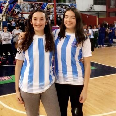 Azul Iparraguirre, en exclusiva en FM10, contó como fue elegida para integrar la Selección Nacional de Cestoball