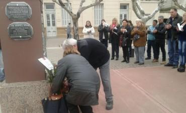 Se realizó el acto en conmemoración al fallecimiento de Eva Duarte de Perón