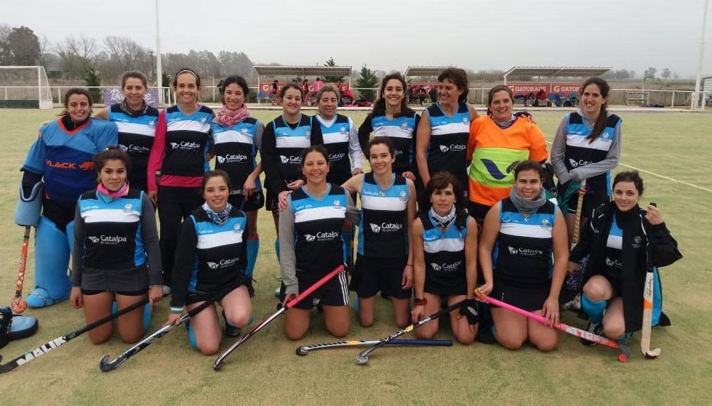 Con triunfo local se desarrolló una jornada de Mamis Hockey en el Club Ciudad