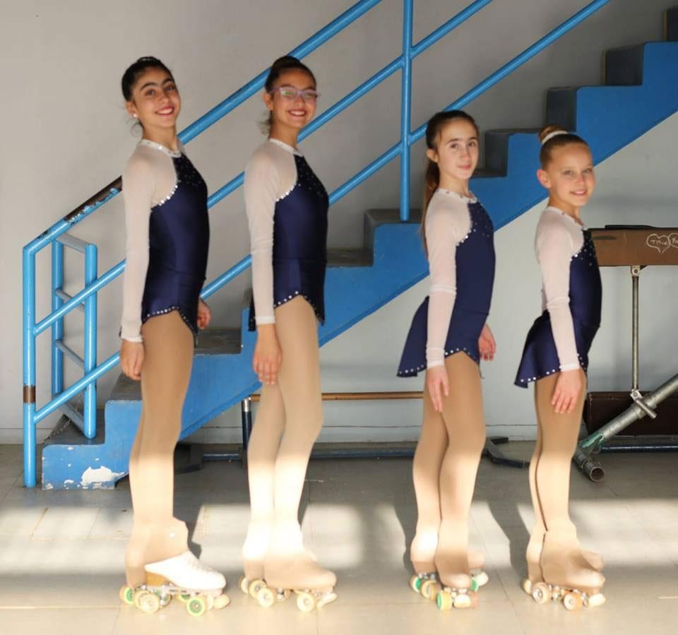 Cuatro patinadoras de Bolívar son finalistas de los Bonaerenses