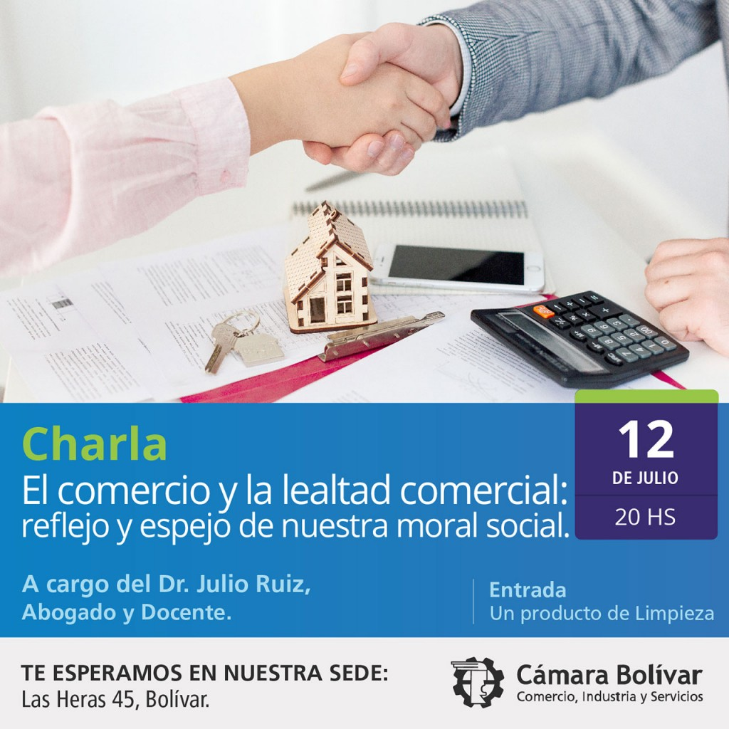 Charla: El Comercio y la Lealtad Comercial, ofrecida por la cámara comercial de Bolívar