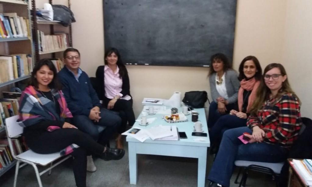 Discapacidad y Empleo se reunieron con sus pares de Daireaux