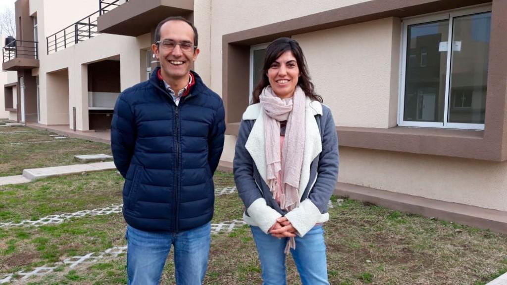 Marcos Pisano: 'Estamos trabajando en la ordenanza con los vecinos para nombrar el barrio, las calles nuevas y la plaza'
