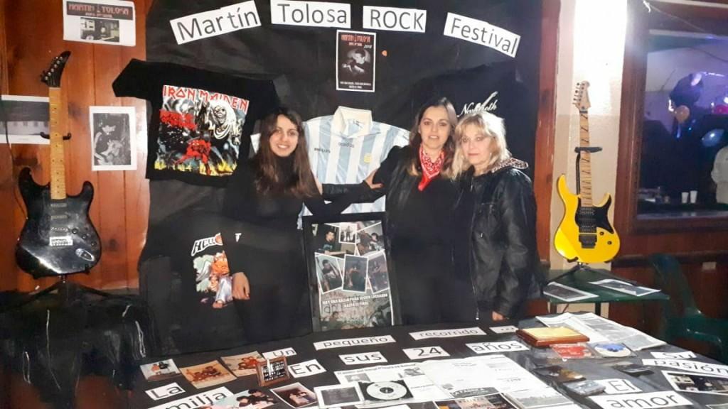 Se realizó  con éxito el Rock Festival Martin Tolosa