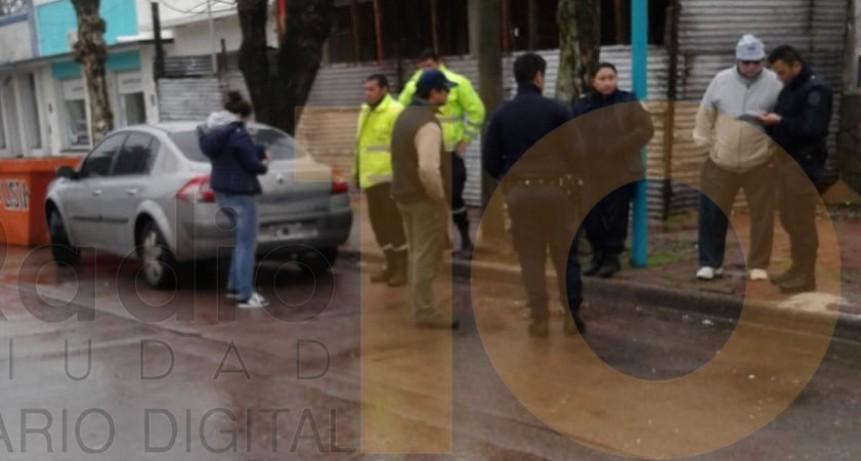 Choque múltiple sin heridos en avenida Lavalle