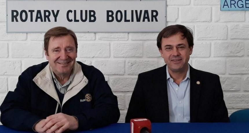 Marcelo Salamanco fue presentado como gobernador de Rotary