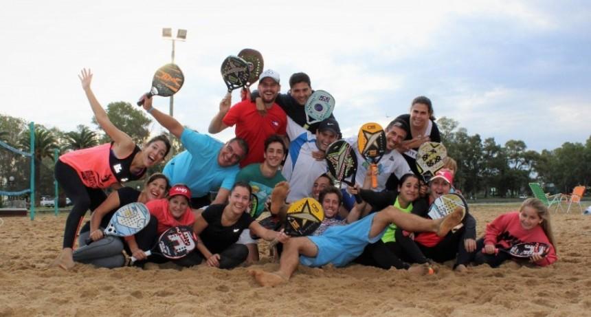 """Ignacio Seccretos; Beach Tenis: """"Ya no jugamos por lo personal, representamos a Bolívar y a Argentina"""""""